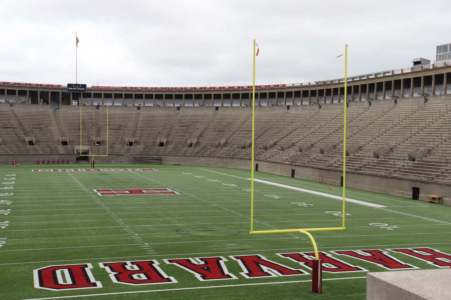 Harvard athletes will not compete in organized play, including local non-conference competition, until at least the fall semester, Harvard Athletics Director Erin McDermott said in an interview Wednesday.