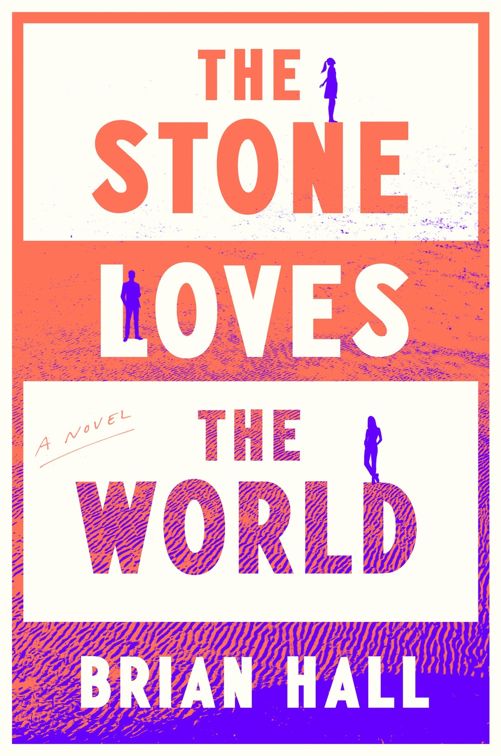 """Cover Art for """"Stone Loves the World"""" by Harvard Alumni Brian J. Hall '81."""