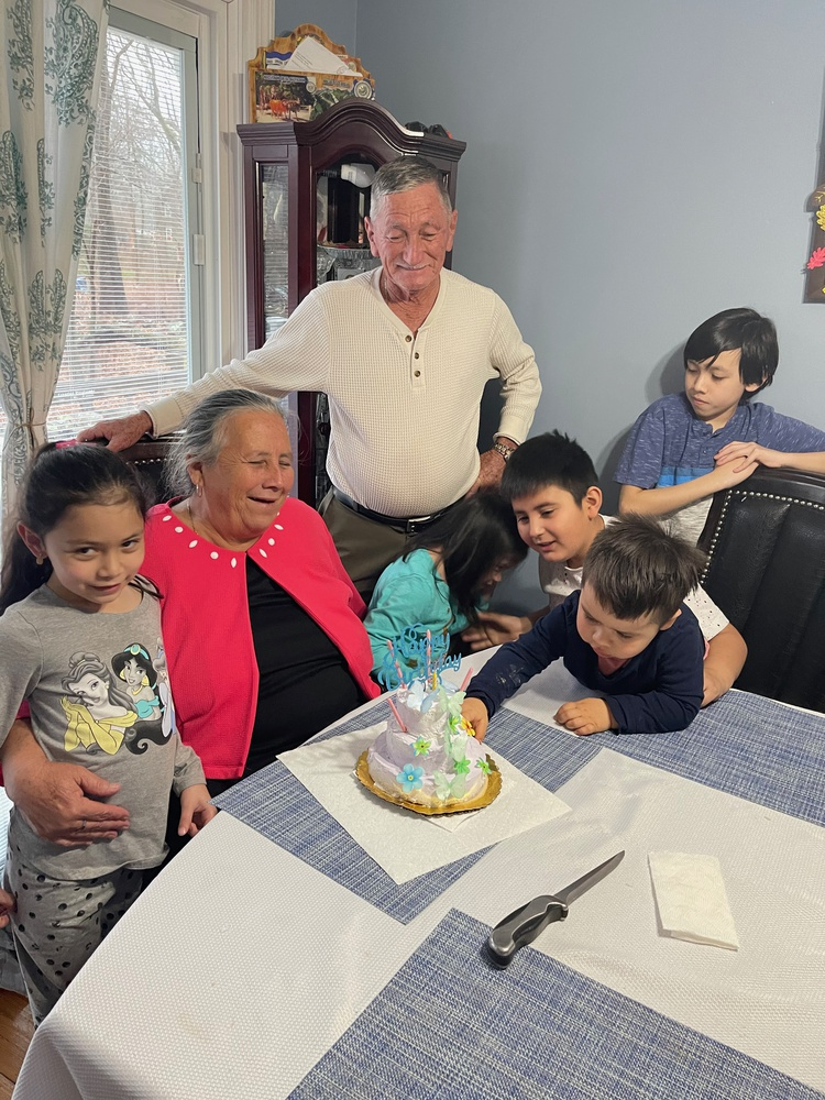 Martinez has a big family with many nieces and nephews, and rarely can they all get together to celebrate.