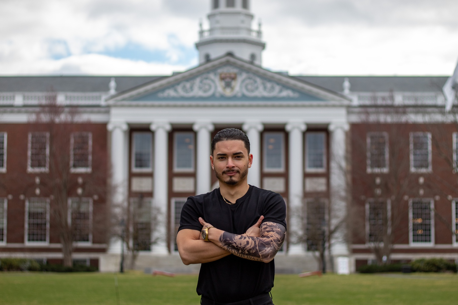 Juan S. Cardenas-Duque is a Harvard University Dining Services employee, a student at Harvard Extension School, and an entrepreneur.