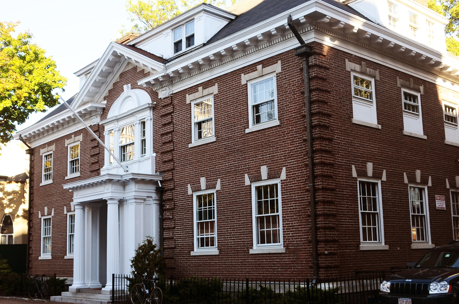 The Owl Club is one of Harvard's final clubs.
