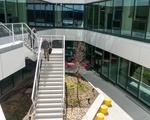 Outdoor Atrium Stairs