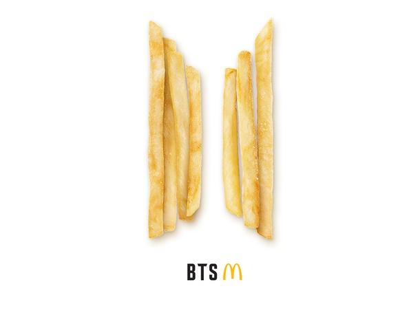 McDonald's BTS Order