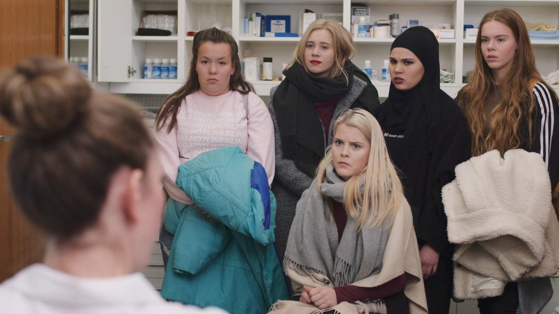 "The Norwegian series ""Skam."""