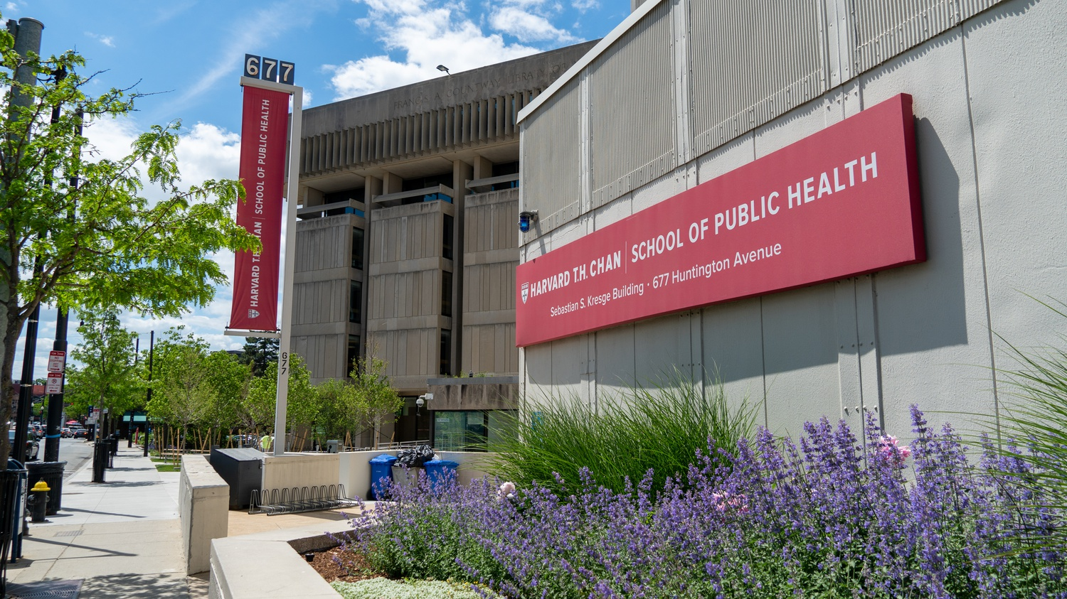 The Harvard Humanitarian Initiative is housed at the Harvard T.H. Chan School of Public Health.