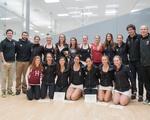 Women's Squash Team's Sweet Taste of Victory