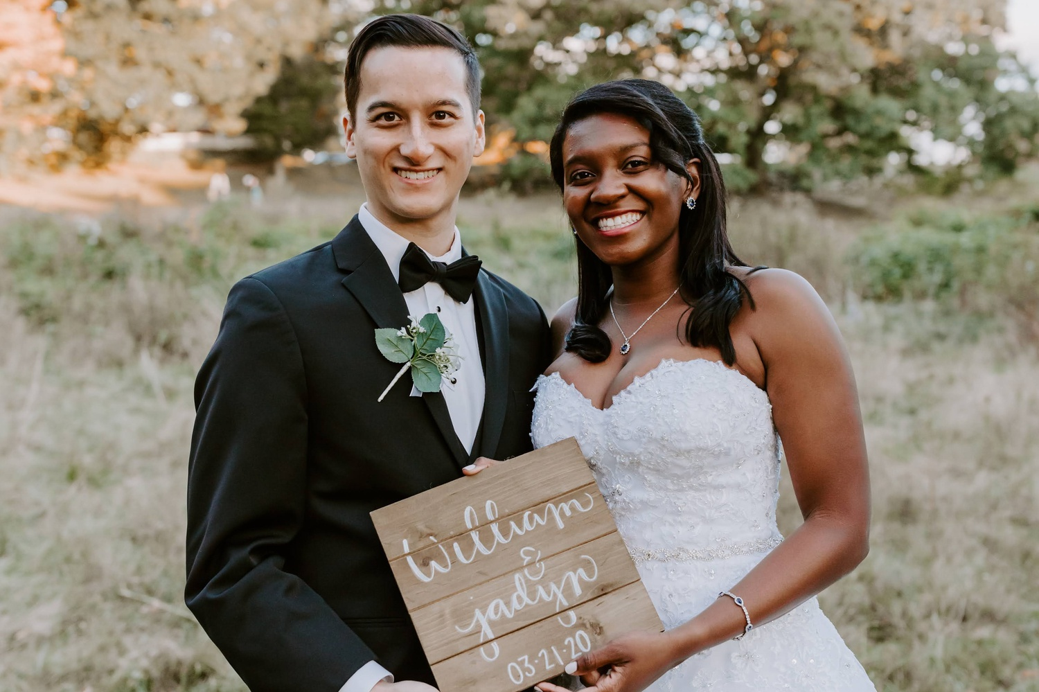 Only 11 days after learning Harvard would require its students to vacate campus, Jadyn K. Bryden '21 orchestrated her own wedding over Zoom.