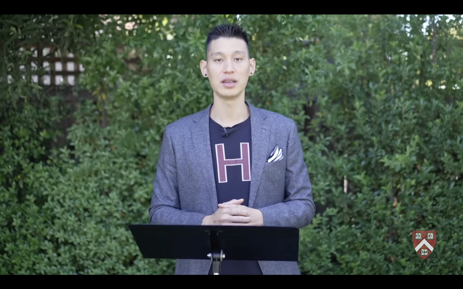 'When I was first asked to speak at Class Day, in true student-athlete fashion, I tried to turn down this extra writing assignment,' Jeremy Lin '10 quipped in his Class Day address Wednesday.