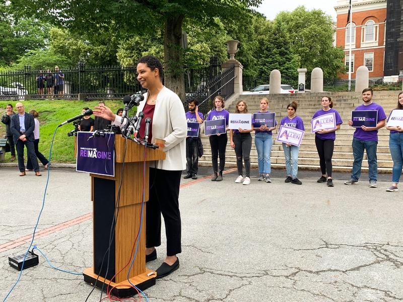 Danielle Allen Campaign Launch