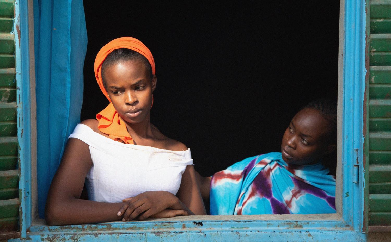 "Maria (Rihane Khalil Alio) and Amina (Achouackh Abakar) in ""Lingui."""