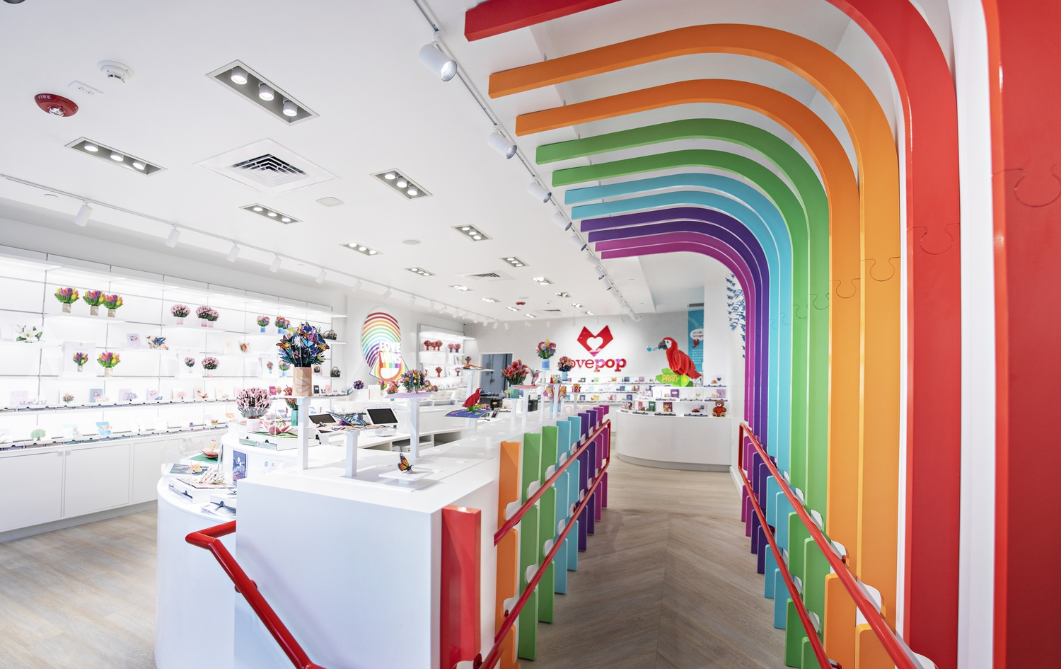 Located at 18 JFK St., Lovepop will offer a variety of 3D products, such as cards, flower bouquets, and giant pop-up gifts.