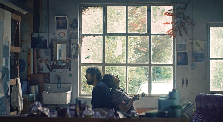"Leïla (Leïla Bekhti) and Damien (Damien Bonnard) in ""Les Intranquilles"""