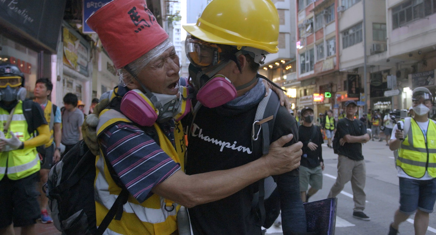 """Still from Kiwi Chow's latest documentary, the Hong Kong protest-based """"Revolution of Our Times."""""""