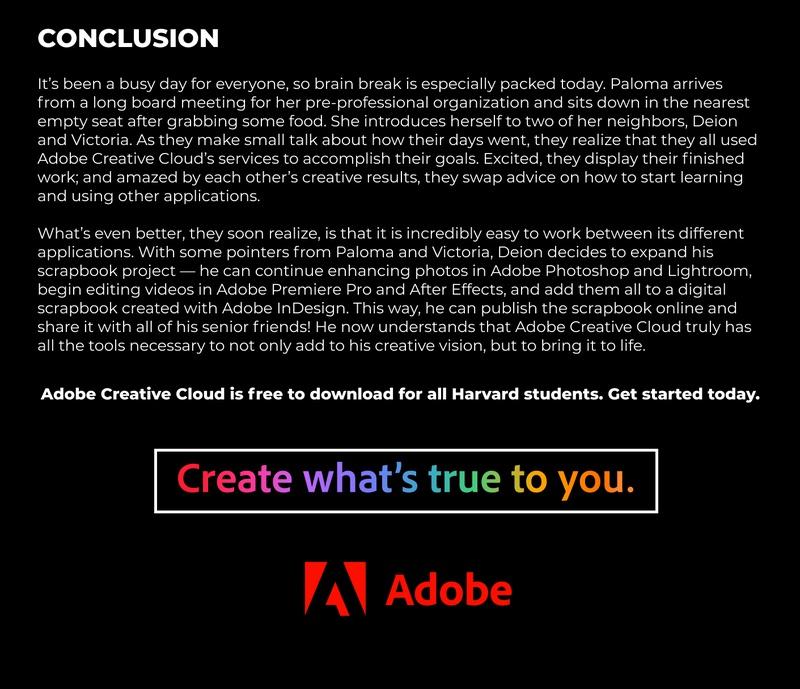 Adobe Conclusion Image