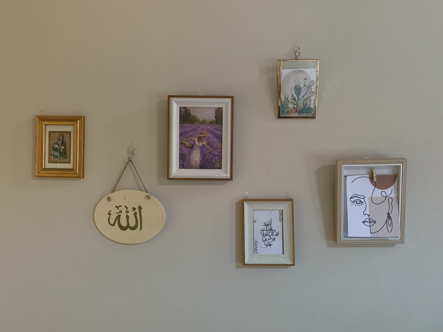 Some of our author's own room decor, carefully curated and placed.