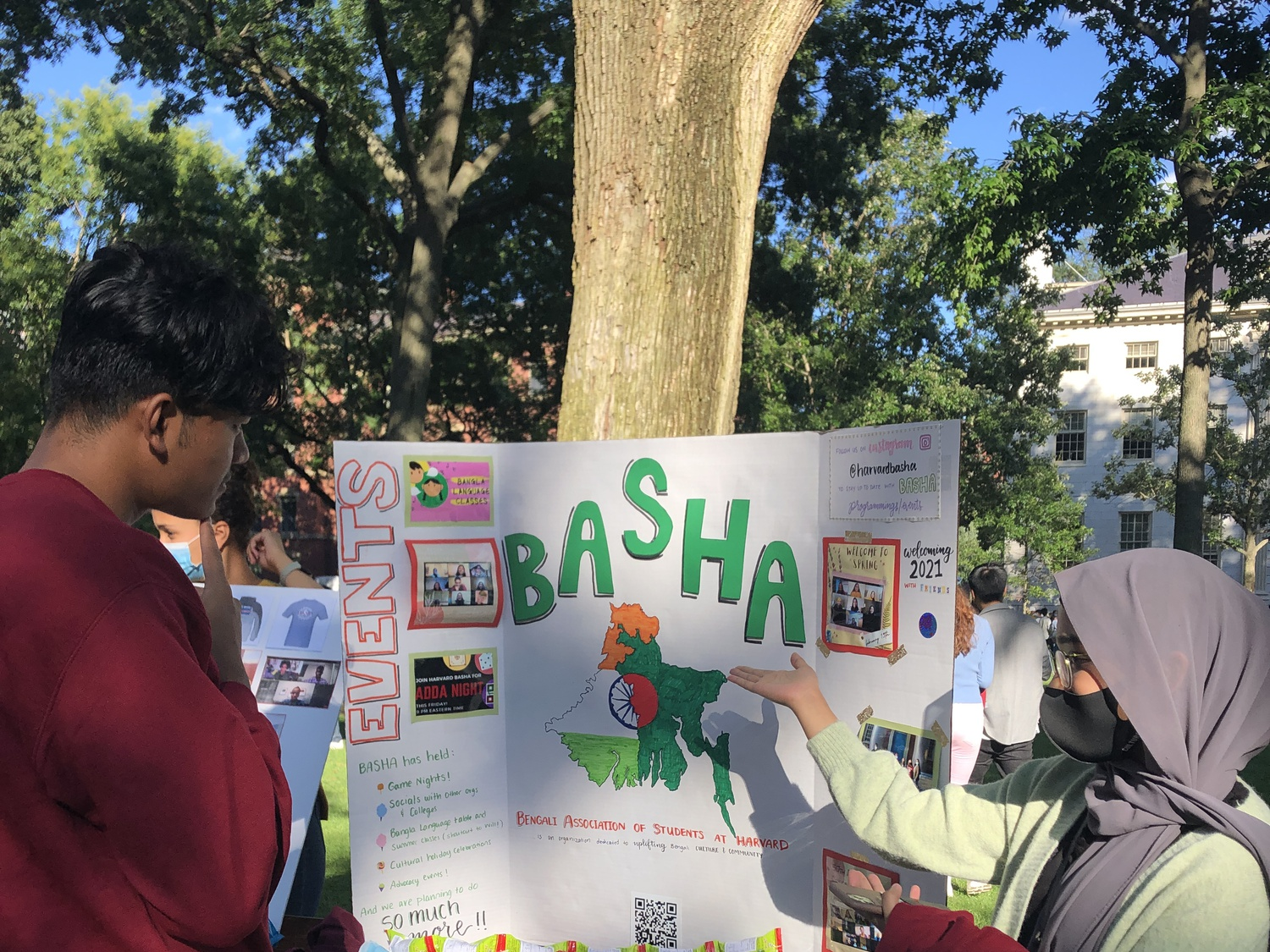 The Bengali Association of Students at Harvard launched during the pandemic to bring together Harvard students from Bangladesh and West Bengal.