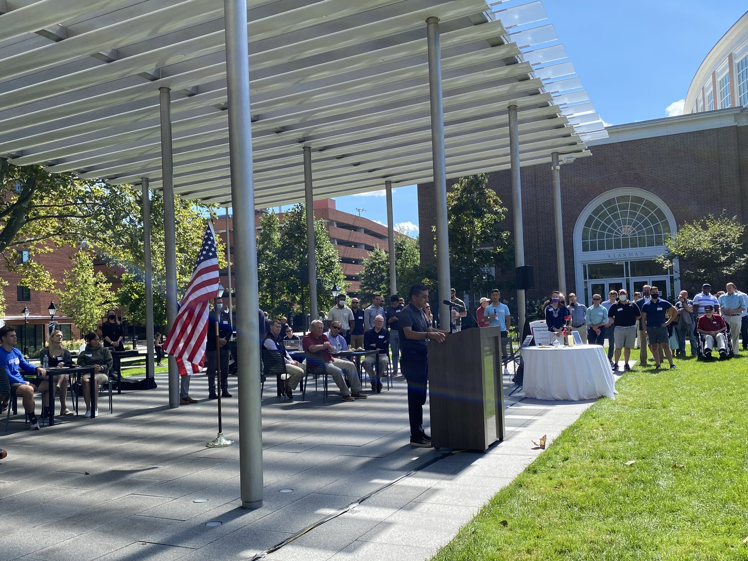 Dean of Harvard College Rakesh Khurana said on the 20th anniversary of 9/11 that the terrorist attacks spurred generations of Americans to lead lives of service.