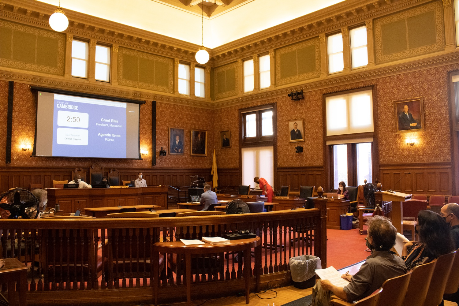 The Cambridge City Council meets for its weekly Monday evening meeting on September 13.