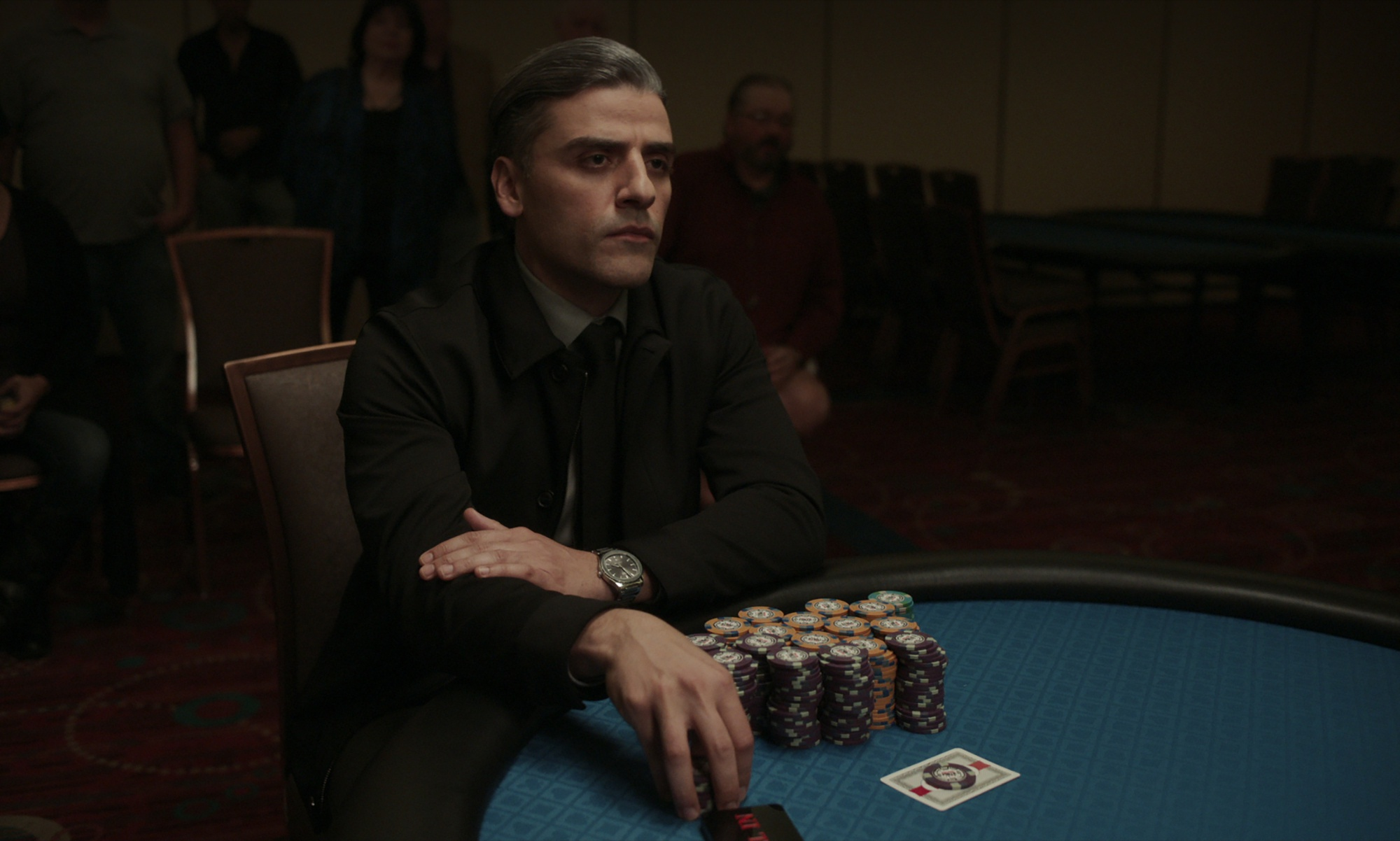 """Oscar Isaac stars as William in """"The Card Counter."""""""