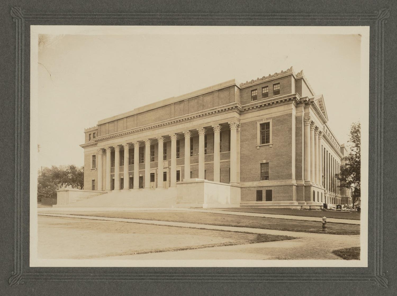Widener Library, 1914.