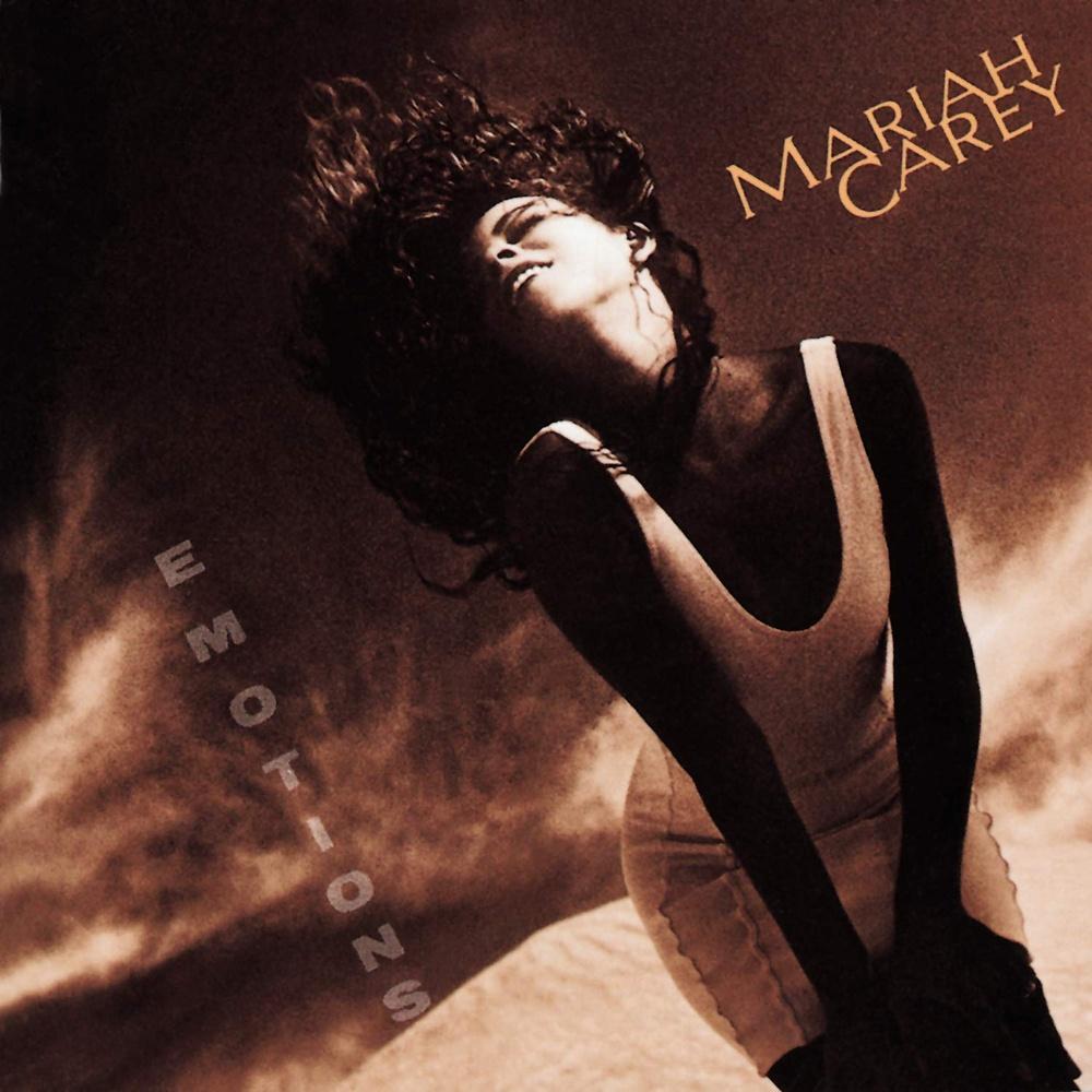 "Album cover for Mariah Carey's ""Emotions."""
