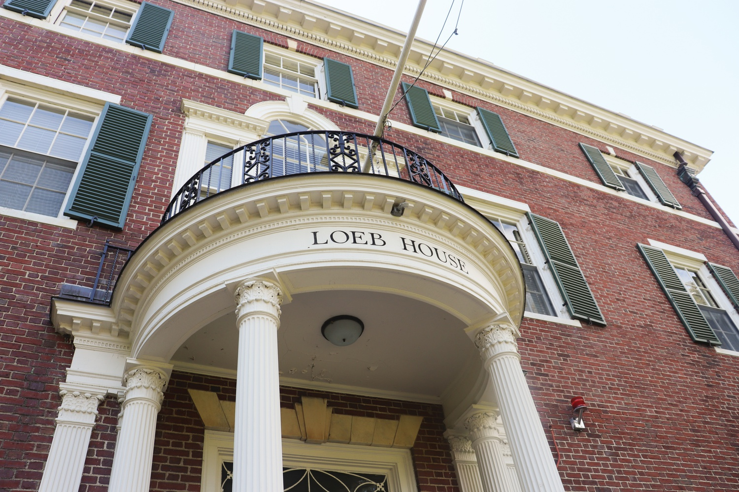 The University's highest governing body — the Harvard Corporation — conducts its business in Loeb House.
