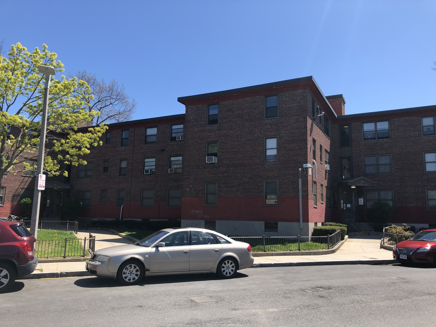 The Johnson family lived at 60 Brookway Road in Roslindale. Archdale, the development they called home, is a 281-unit public housing complex, where families pay 32% of their income toward rent.