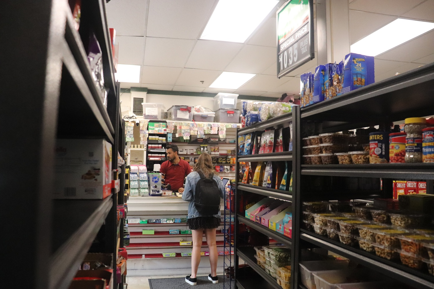 Harvard Square convenience store Tommy's Value reopened earlier this month after closing at the onset of the Covid-19 pandemic.