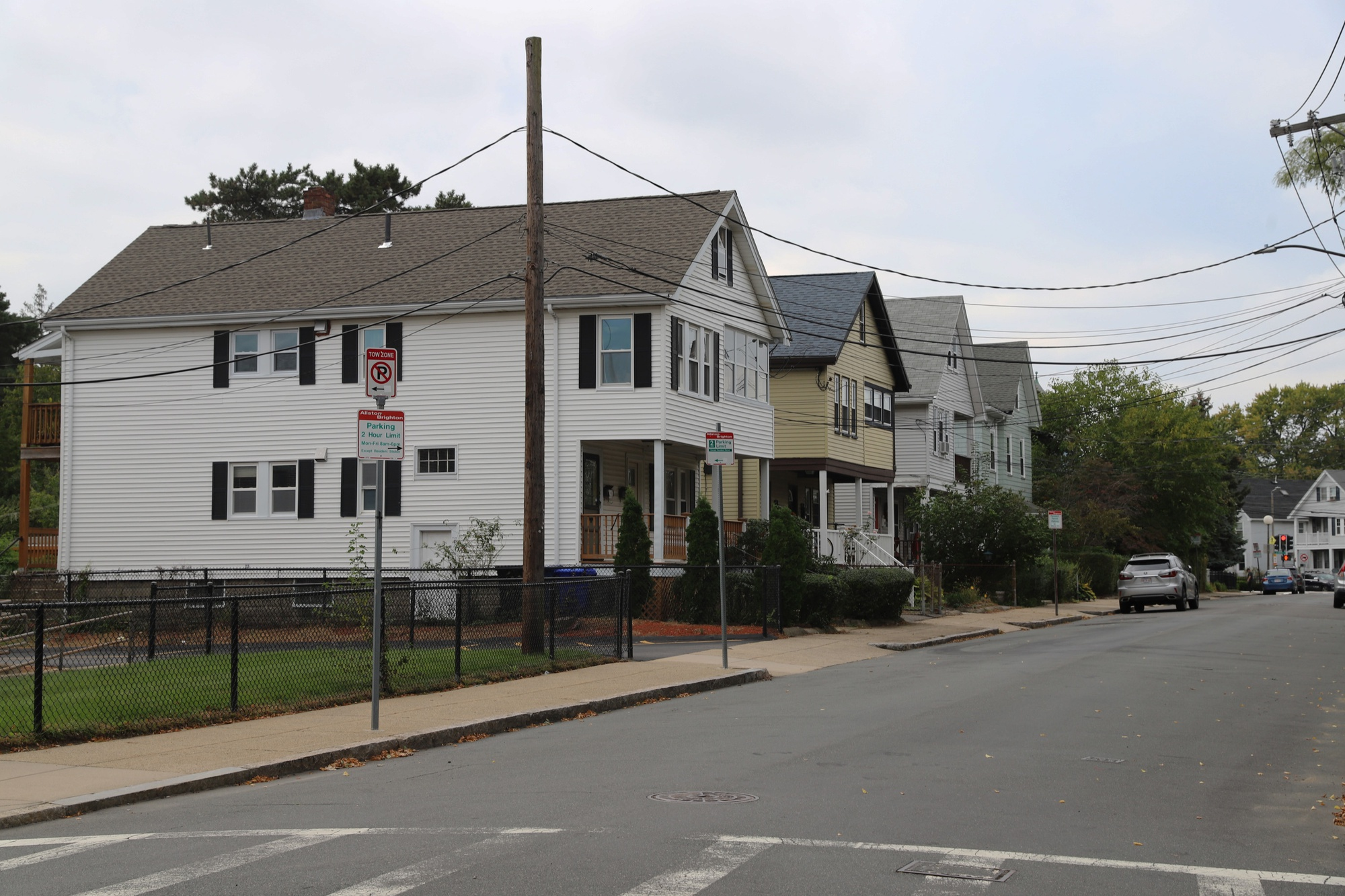 Kingsley Street is just one of the many roads in Allston undergoing a period of gentrification, with average home prices jumping from $350,000 to $500,000 between 2011 and 2019.