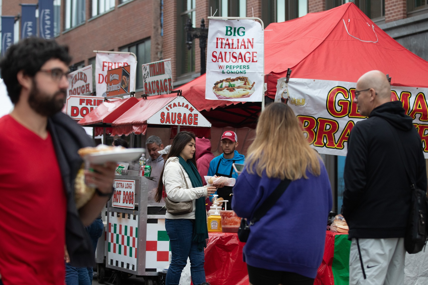 Live performances, arts and crafts, and street food spilled into Harvard Square Sunday as the Harvard Square Business Association hosted its 42nd Annual Oktoberfest.