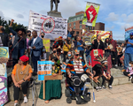 Indigenous Peoples' Day March Signs
