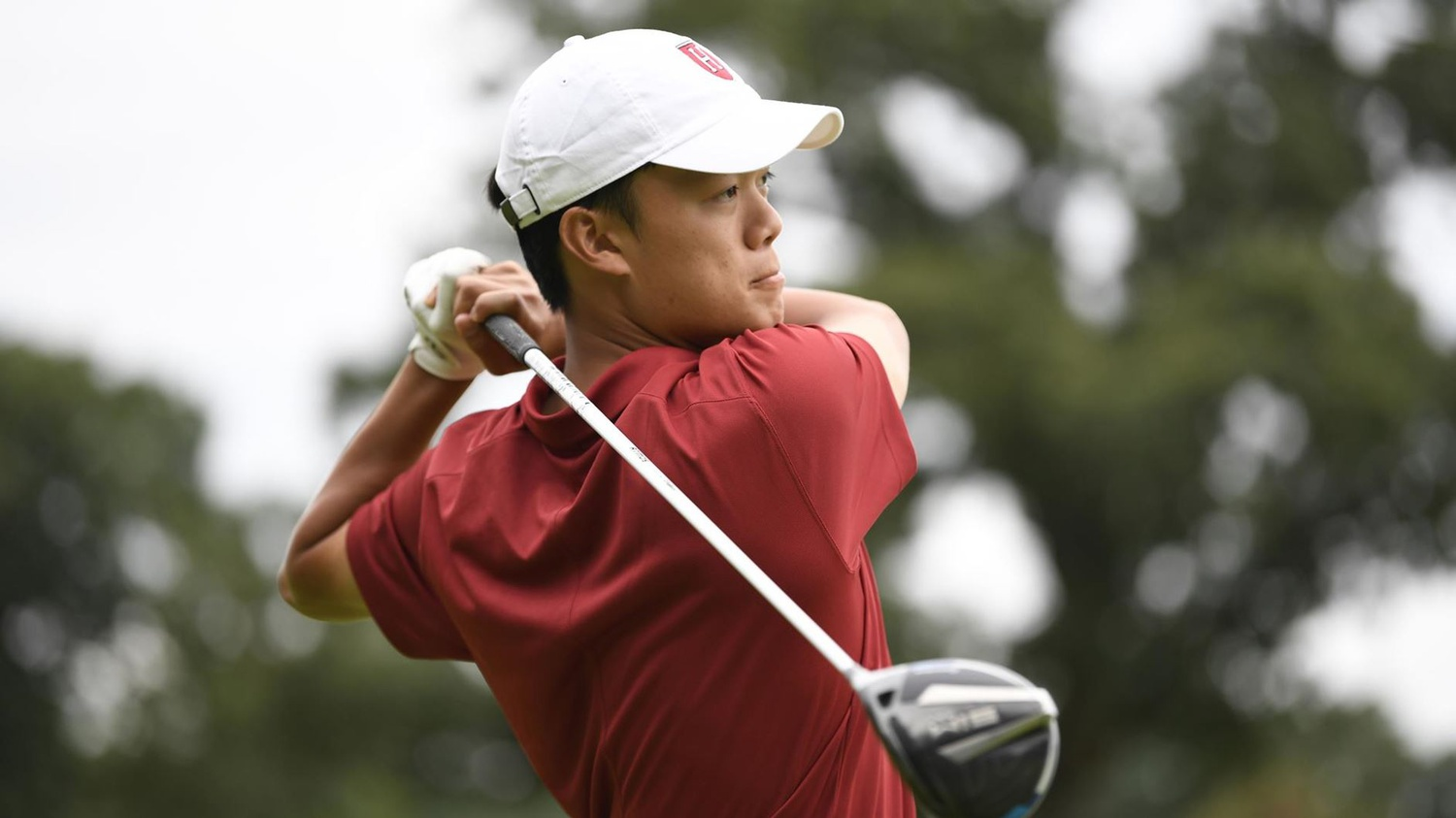 Sophomore Brian Ma follows through for a Harvard men's golf squad that is coming off of a first-place finish in the Autumn Invitational, topping the 12-team field.