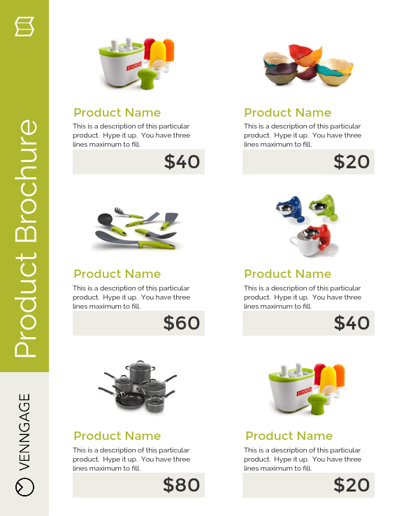 Product Brochure Flyer Template