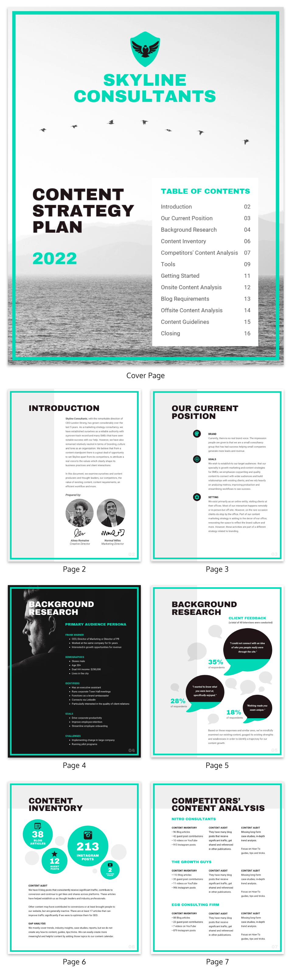 Content Strategy Plan Template