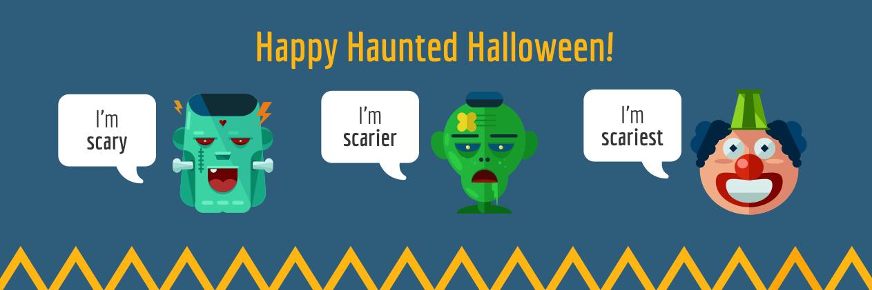 Halloween Twitter Banner Template