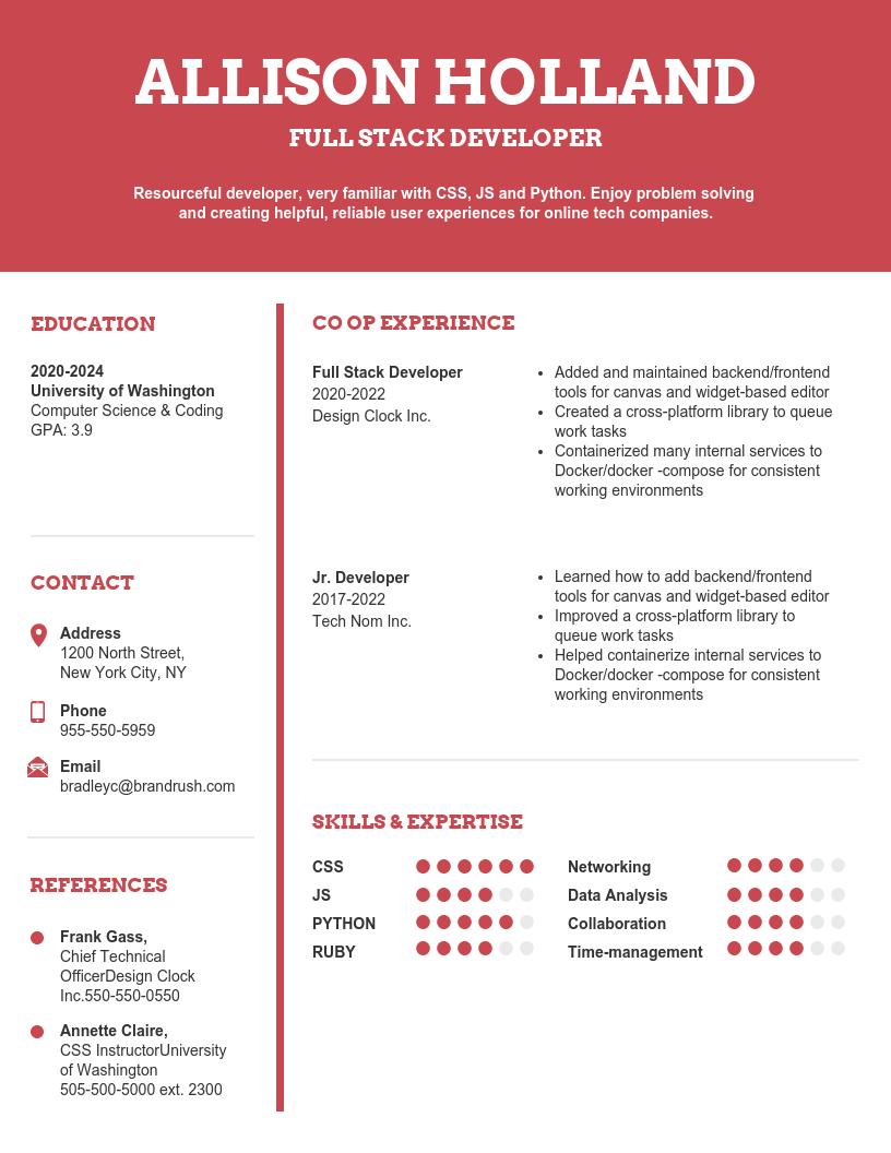 Resume Platform from s3.amazonaws.com