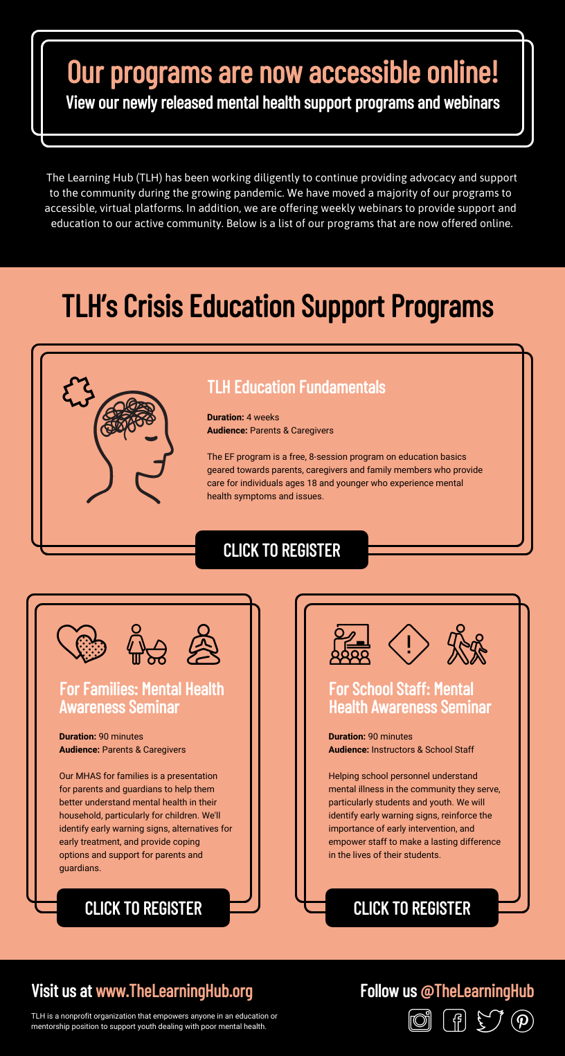 Nonprofit Crisis Response Support Programs Email Newsletter Template