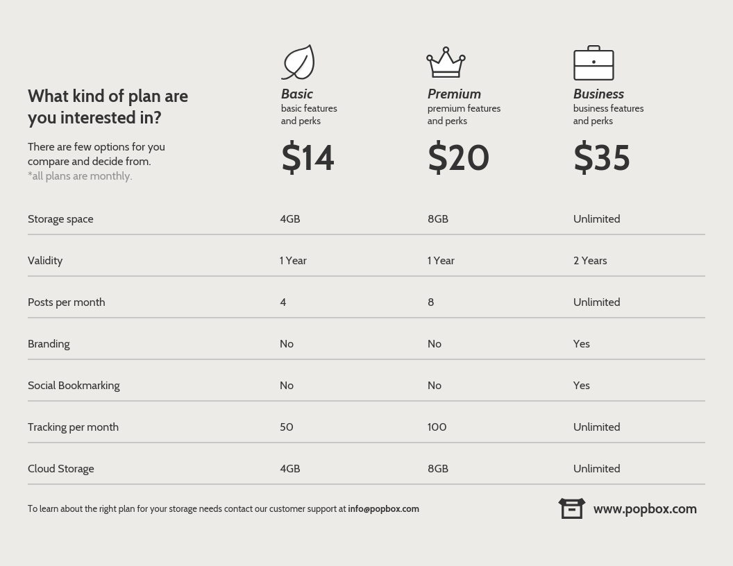 Payment Plan Infographic Template