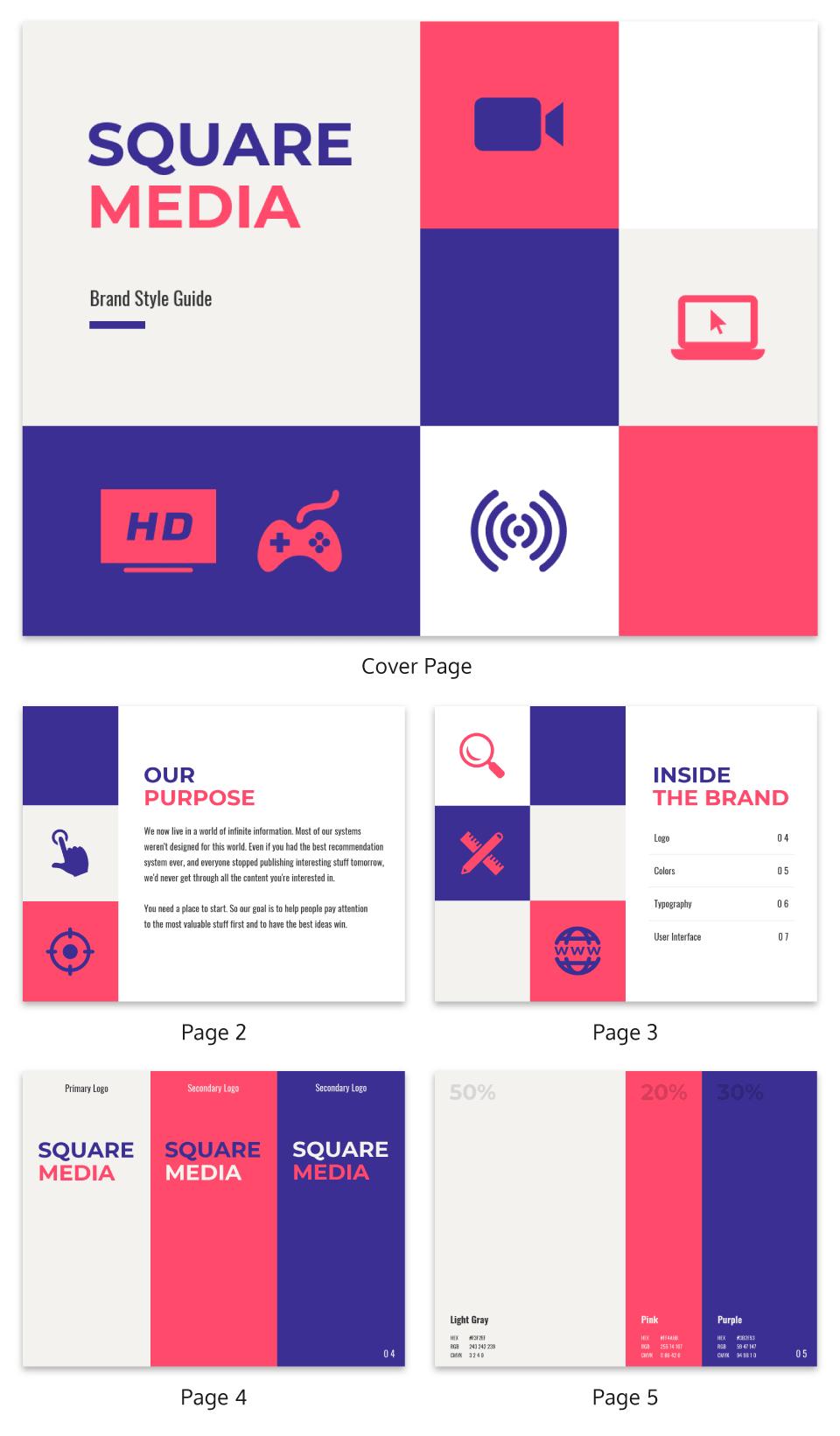 Vibrant Ebook Template