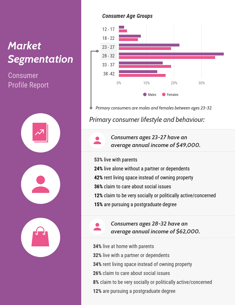 Market Segmentation Report Template