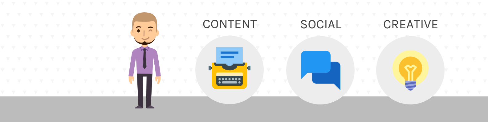 Marketer Profile LinkedIn Banner Template