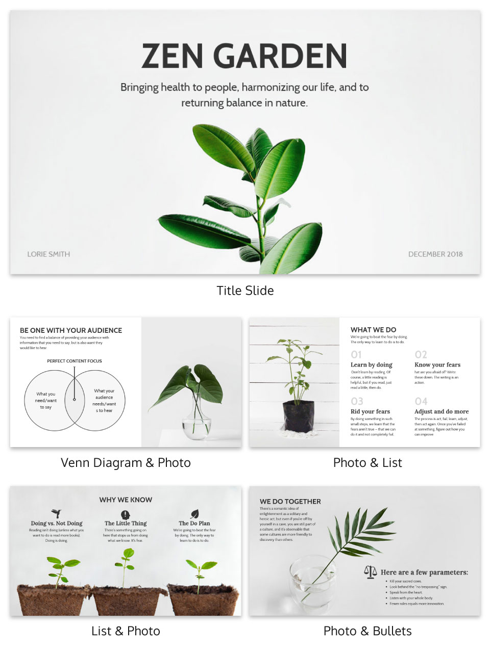 Soft Creative Presentation Template