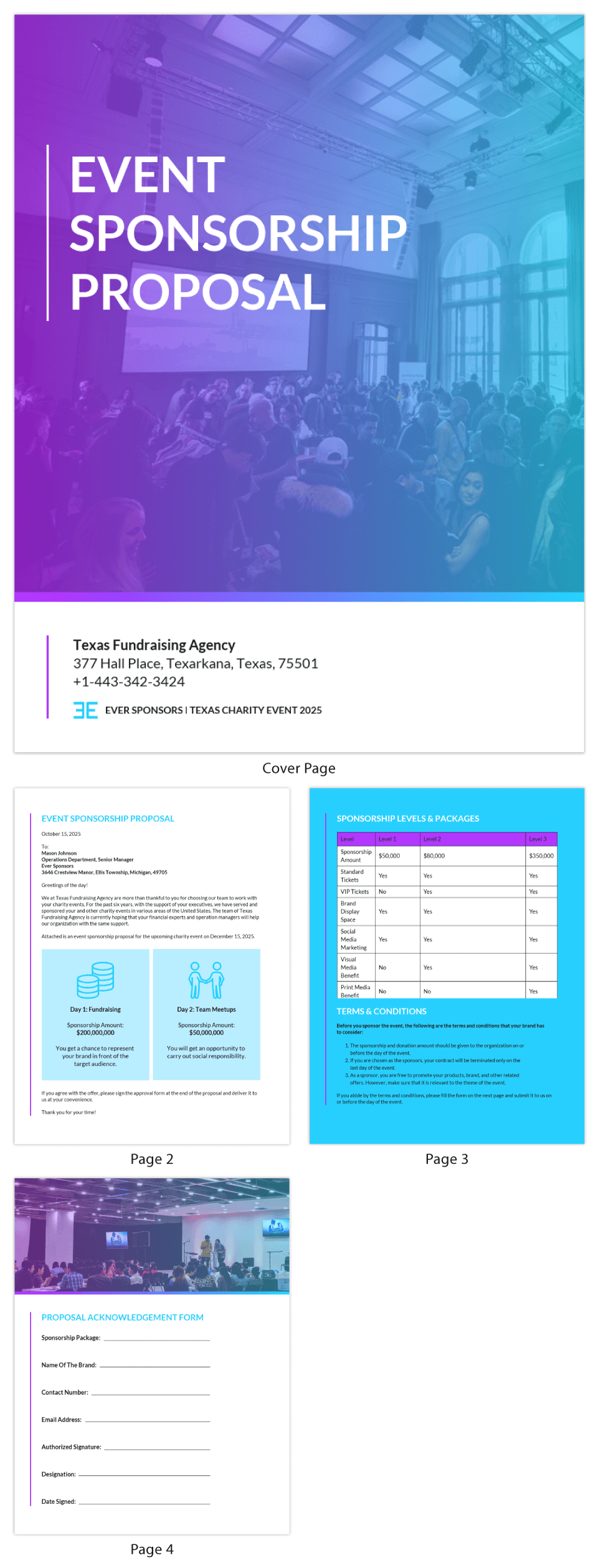 Gradient Event Sponsorship Proposal Template