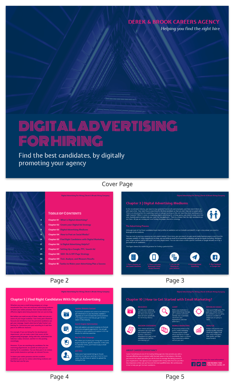 Neon Digital Hiring Strategy White Paper Template