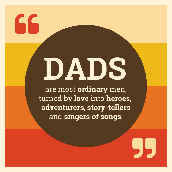 Father\'s Day Instagram Quote Template Template - Venngage