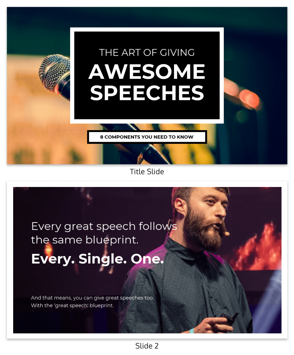 Photography Creative Keynote Presentation Template
