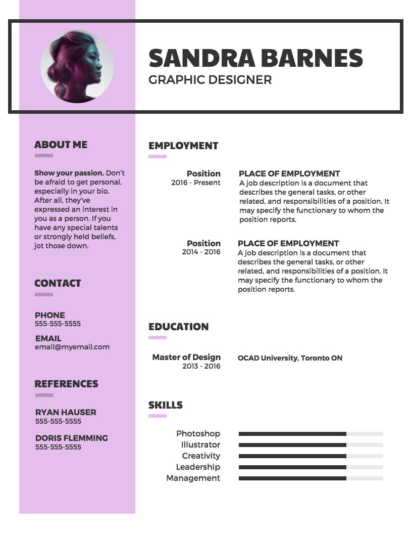 Modern Professional Resume Template