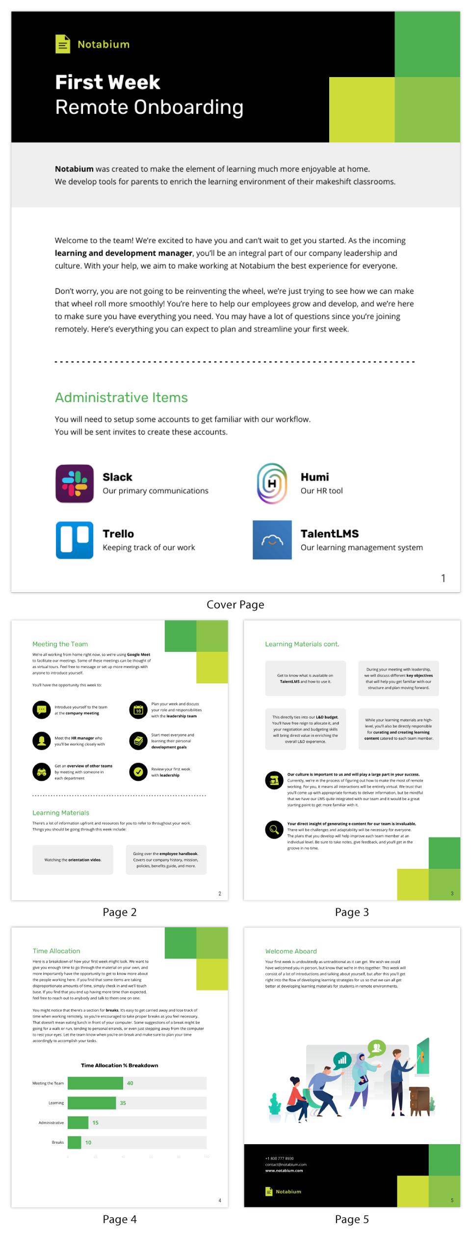 Learning and Development Manager Remote Onboarding Template