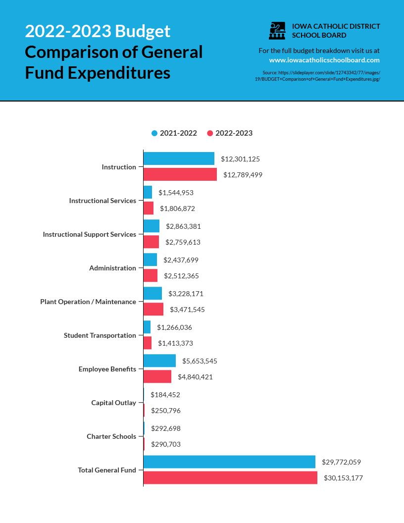 Budget Comparison Infographic Template