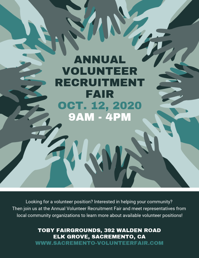 Volunteer Recruitment Event Flyer Template